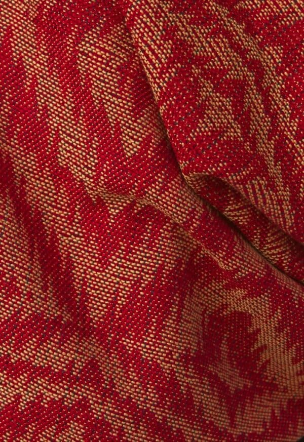bamboo wrap red gold