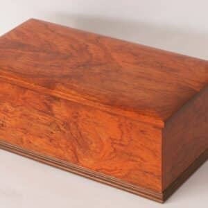bubinga box brass walnut