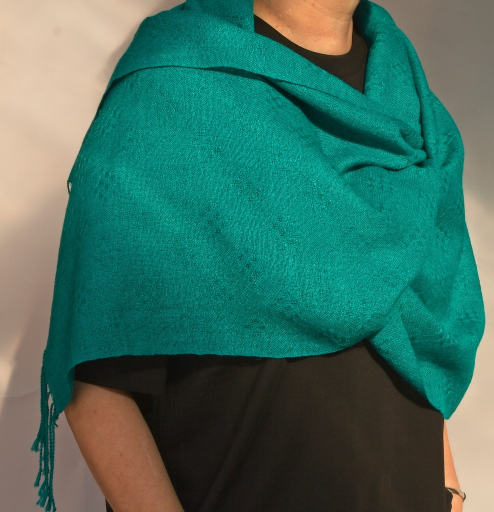 alpaca silk wrap