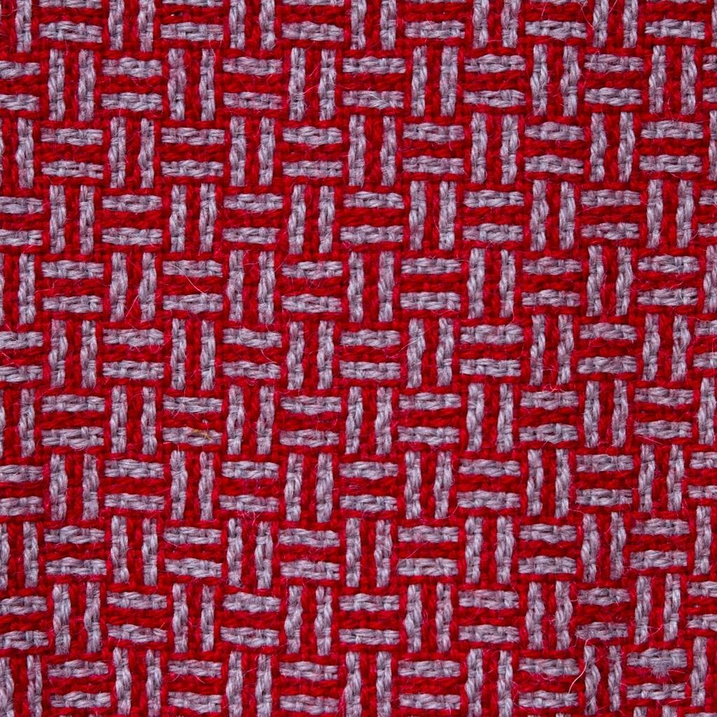 alpaca scarf plaited twill