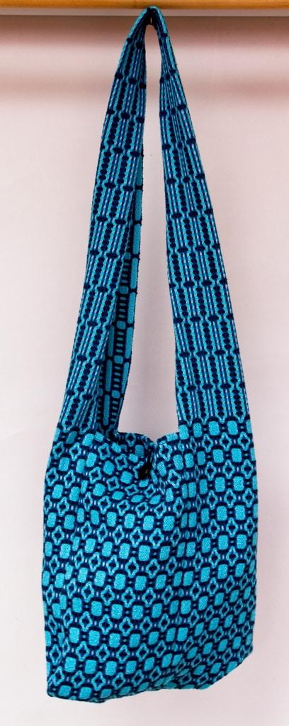 shoulder bag cotton handwoven